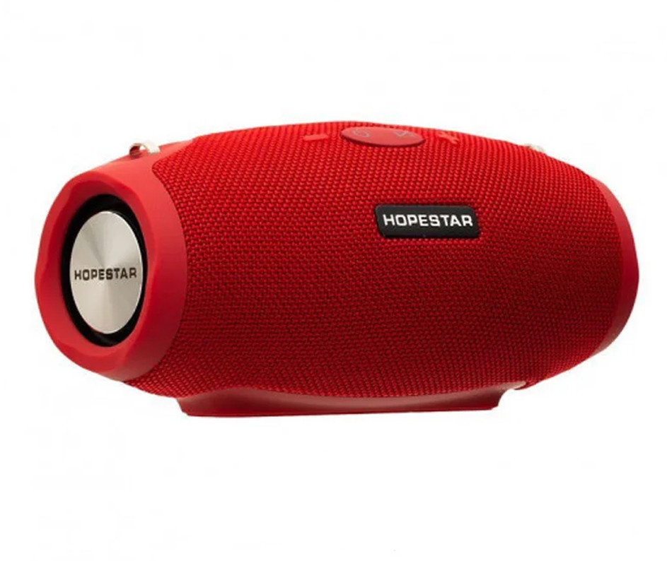 Портативная Bluetooth колонка Hopestar H26 mini, красная