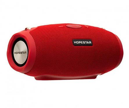 Портативная Bluetooth колонка Hopestar H26 mini, красная, фото 2