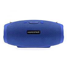 Портативная Bluetooth колонка Hopestar H26 mini, синяя