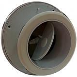 Пассивный приточно-вытяжной клапан Climtec ПК-100/ПК-125 (стеновой), фото 4