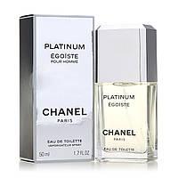 Chanel Egoiste Platinum,мужская туалетная вода, edt 50 мл