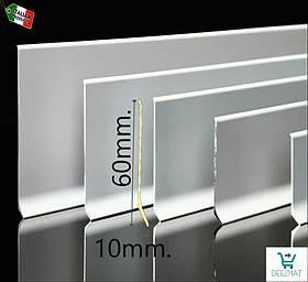 Алюмінієвий плінтус підлоговий 60х10х2000мм Profilpas 90/6. Тонкий дизайнерський плінтус металевий