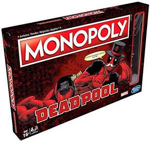 Настільна гра Монополія Hasbro Deadpool Дэдпул Monopoly DР M