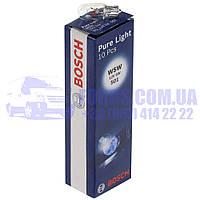 Автолампа W5W (W5W 12В 5Вт W2,1X9,5D Pure Light)  BOSCH
