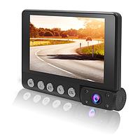 Автомобильный видеорегистратор Terra C9, три камеры