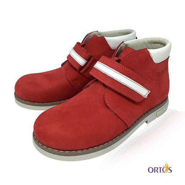 Черевики ортопедичні ОrtoBaby D9104 колір червоний