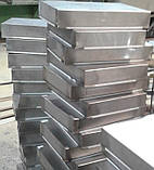 Противень GN 1/1  530х325х50 из нержавеющей стали 201, фото 3