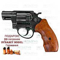 Револьвер ME 38 Pocket 4R чорний дерев'яна рукоять