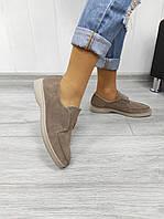 Жіночі замшеві туфлі, фото 1