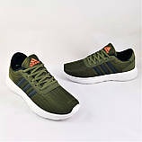 Кроссовки Adidas Мужские Зеленые Хаки Адидас BOOST (размеры: 41,42,43,44,45) Видео Обзор, фото 10