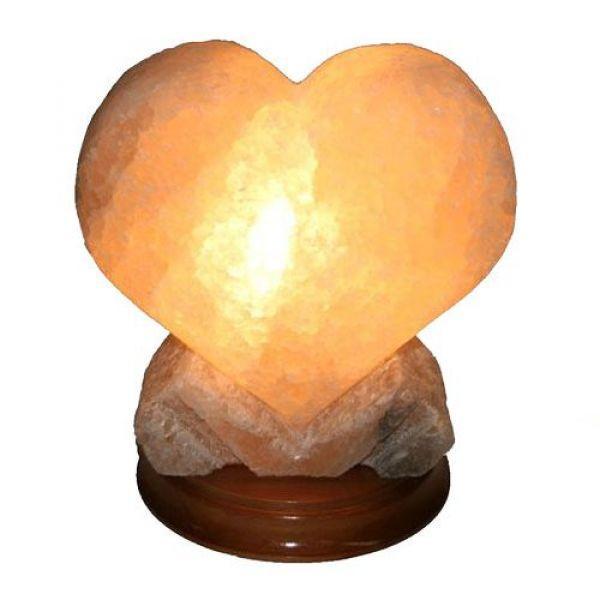 Соляна лампа «Сердце велике»