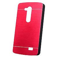 Чехол Motomo Aluminum для LG L Fino Dual D295 Red