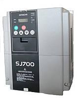 Частотный регулятор HITACHI SJ700D-022HFEF3, 2.2/3.7кВт, 5.3/6.7A, 380В. Векторный.