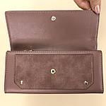Кошелёк женский из искусственной кожи Tailian ( T5663-001) пудра темная, фото 6