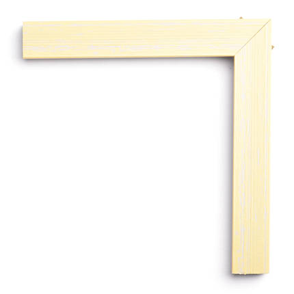 Настенное зеркало БЦ Стол Фиона квадратное B11 желтое, фото 2