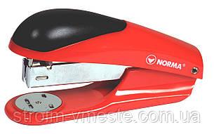 Степлер канцелярский NОRМА 4028 №24/6 45 мм 20 л красный