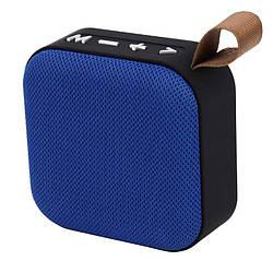 Портативная Bluetooth колонка T5, синяя