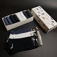 Набор коротких мужских носков Nike, Puma и другие 8 пар! хлопок (копия), фото 1