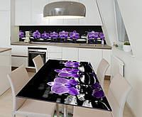 Наклейка 3Д виниловая на стол Zatarga «Полуночная медитация» 600х1200 мм для домов, квартир, столов, кофейн,, фото 1