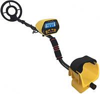Металлоискатель Tracker Discovery MD1028 Черно-желтый
