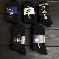 Мужские высокие носки 6 видов, фото 1