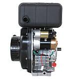 Двигатель дизельный GrunWelt GW178FE (6 л.с., шлицы), фото 3