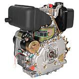 Двигатель дизельный GrunWelt GW178FE (6 л.с., шлицы), фото 4