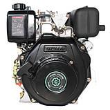 Двигатель дизельный GrunWelt GW178FE (6 л.с., шлицы), фото 6