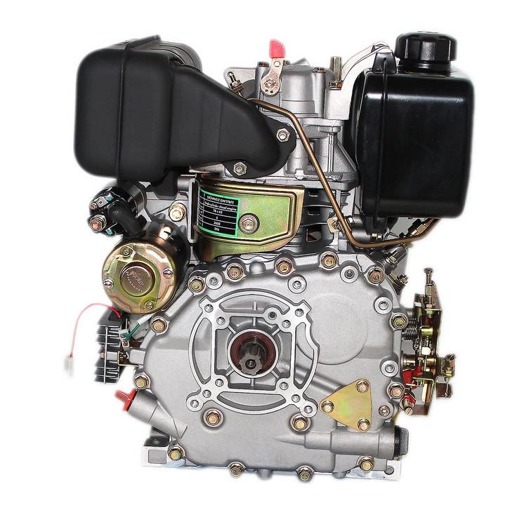 Двигатель дизельный GrunWelt GW178FE (6 л.с., шлицы)