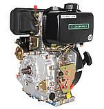 Двигатель дизельный GrunWelt GW178FE (6 л.с., шлицы), фото 7