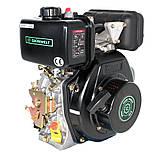 Двигатель дизельный GrunWelt GW178FE (6 л.с., шлицы), фото 8