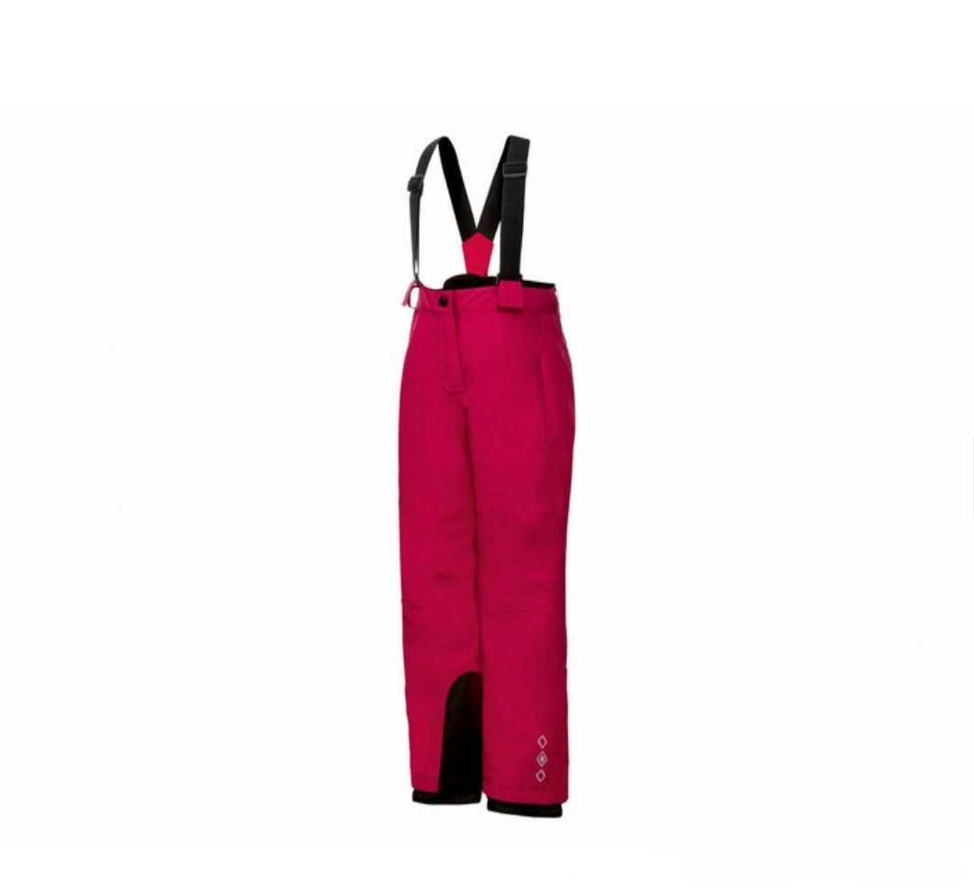Лыжные штаны CRIVIT малиновые IAN 335853_2001 р.122/128