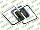 Светодиодная люстра MX2503/2GR LED 3color dimmer (Серый) 55W, фото 5