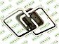 Светодиодная люстра MX2503/2GR LED 3color dimmer (Серый) 55W, фото 6