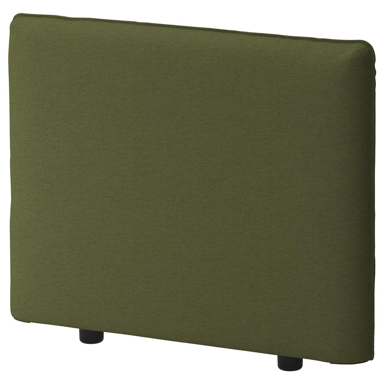 IKEA VALLENTUNA  Чехол на подлокотник, Оррста оливково-зеленый (904.179.71)