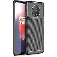 Чехол Carbon Case для OnePlus 7T Black