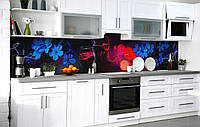 Скинали на кухню Zatarga «Любовное зелье» 600х3000 мм виниловая 3Д наклейка кухонный фартук самоклеящаяся, фото 1