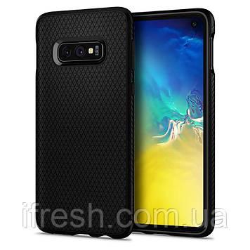 Чехол Spigen для Samsung Galaxy S10e Liquid Air, Matte Black (609CS25836)