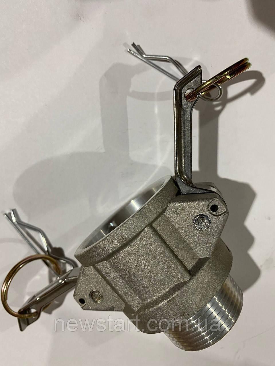 Камлок (camlock) алюмінієвий тип B