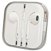 Наушники гарнитура EarPods 3.5мм iPhone Айфон
