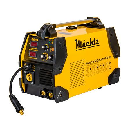 Сварочный аппарат полуавтомат Mächtz MWM-315 MIG/MAG/MMA/TIG, фото 2