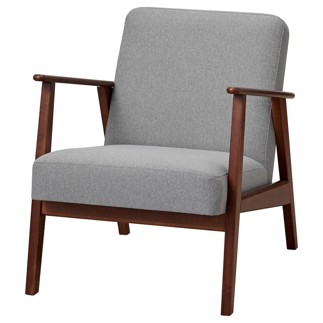 IKEA EKENÄSET  Кресло, серый (605.035.45)