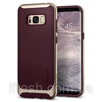 Чехол Spigen для Samsung S8 Plus Neo Hybrid, Burgundy