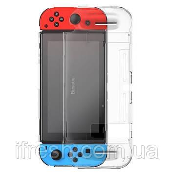 Чехол Baseus для игровой консоли Nintendo Switch - GS07 Basic Case, Transparent (WISWGS07-02)