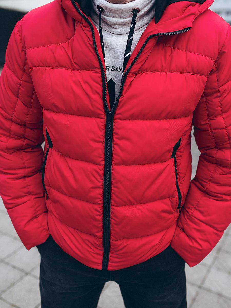 Чоловіча куртка Р1 Червоний колір!