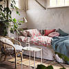 IKEA KLIBBGLIM  Комплект постельного белья, разноцветный / цветочный узор (104.822.63), фото 4