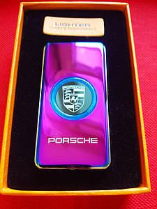Металлические  USB зажигалки с логотипом PORSHE