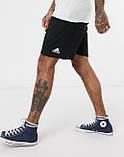 Спортивні чоловічі шорти Adidas (Адідас) чорні, фото 2