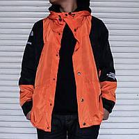 Мужская ветровка Supreme x The North Face light orange куртка суприм тнф tnf, фото 1