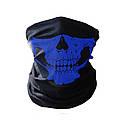 Бафф маска с рисунком черепа (Челюсть) Красная, Унисекс, фото 4